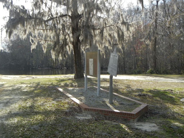 Brier Creek historical markers