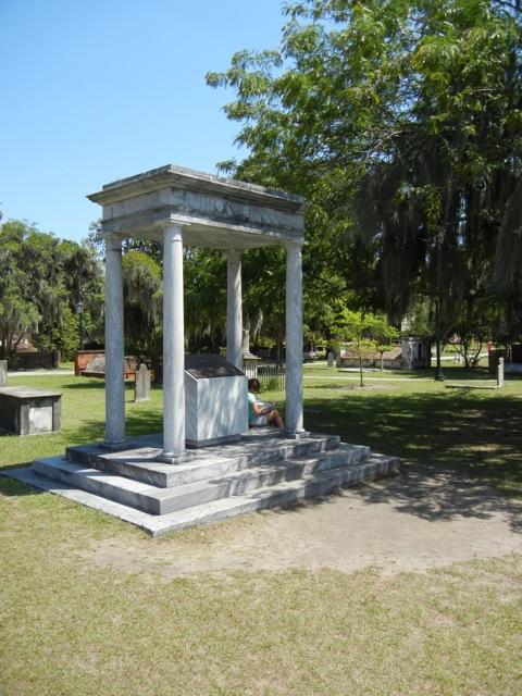 Button Gwinnett memorial